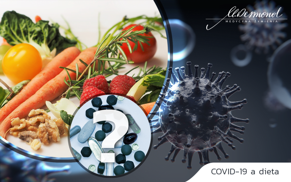 Dieta może odgrywać kluczową rolę w zmniejszeniu ryzyka zachorowania na ciężką postać COVID-19 oraz śmierci z powodu tej choroby.