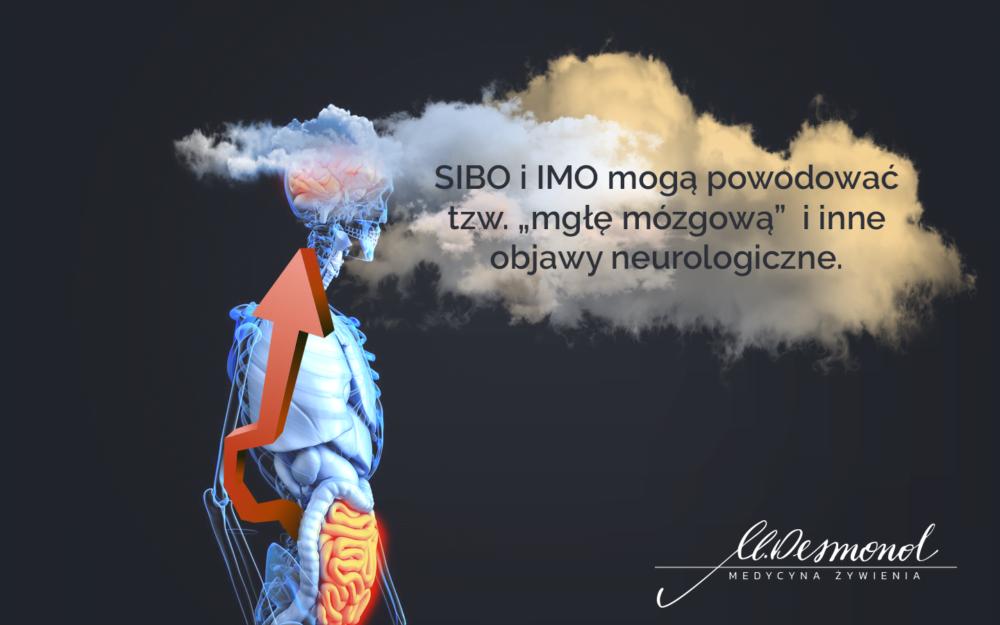 SIBO mgła mózgowa brain fog Małgorzata Desmond