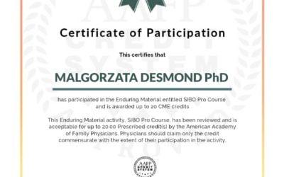 SIBO Pro Course – kurs terapii SIBO i IMO certyfikowany przez American Academy of Family Physicians